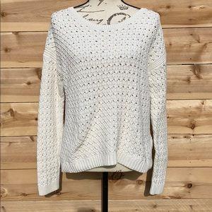 Old Navy Crochet Knit Sweater